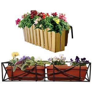 Балконные подставки для цветов