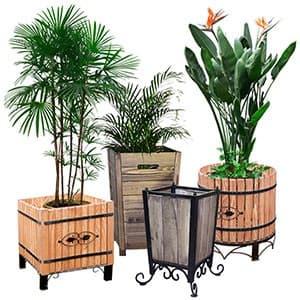 Кадки для растений и урны