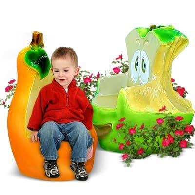 Кресла Скамейки Пластик