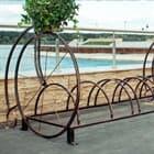 Кованые велопарковки - надежно и практично!