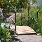 Как собрать садовый мостик своими руками? Видео