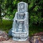 Декоративные фонтаны - отличное украшение для сада