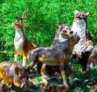 Лесные животные в Вашем саду