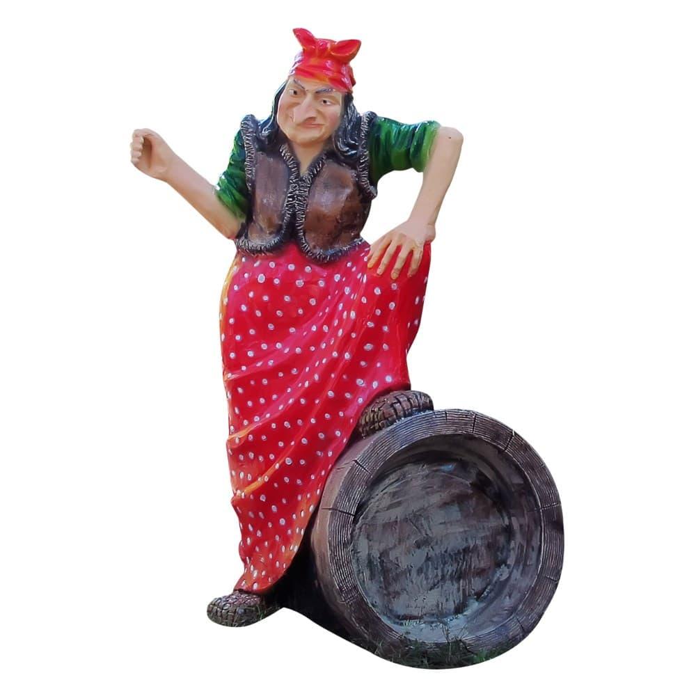 Фигура из полистоуна Баба яга