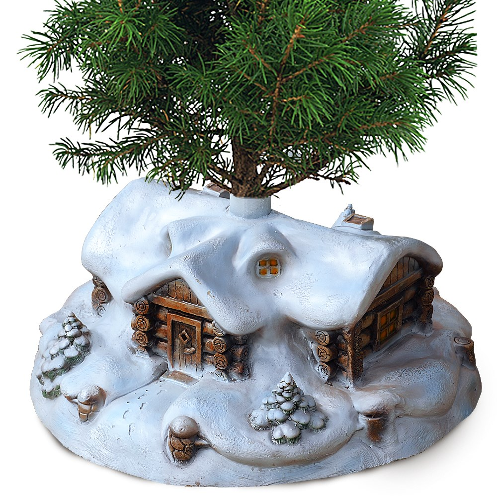 фото Подставка для елки Домик
