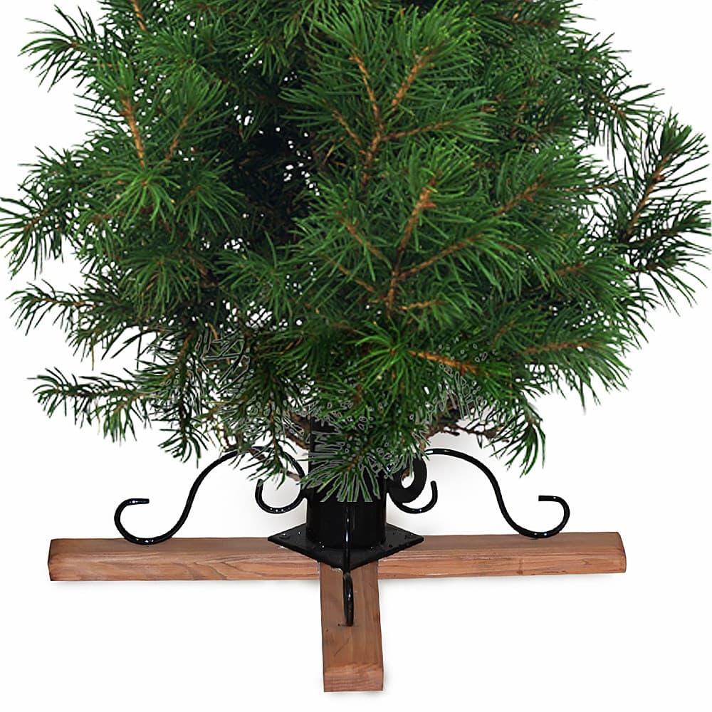 Подставка для елки деревянная