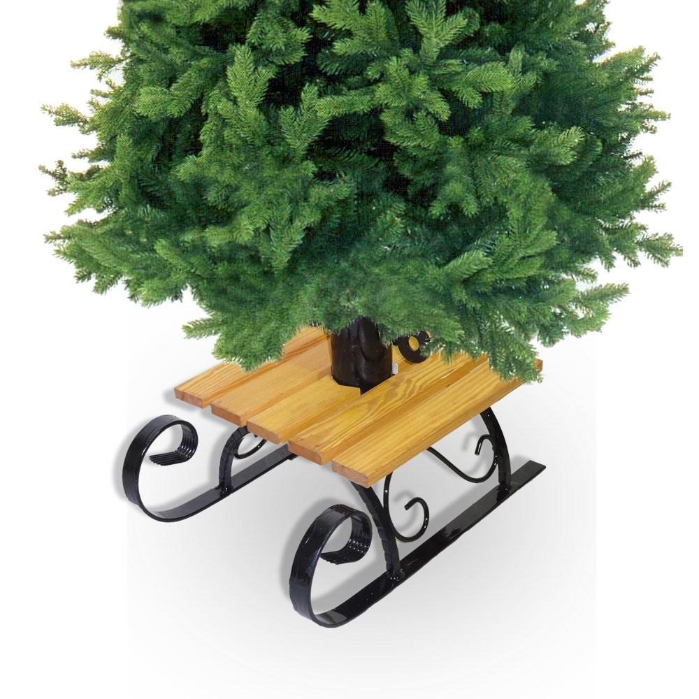 Подставка для елки в виде саней