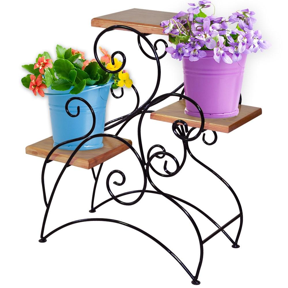 Этажерка для 4 цветочных горшков