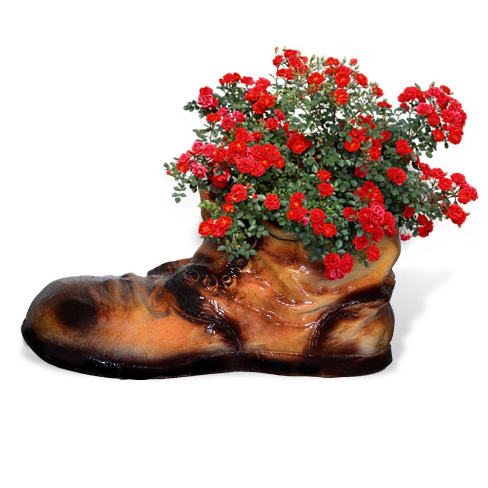 Садовая фигурка Кашпо-ботинок