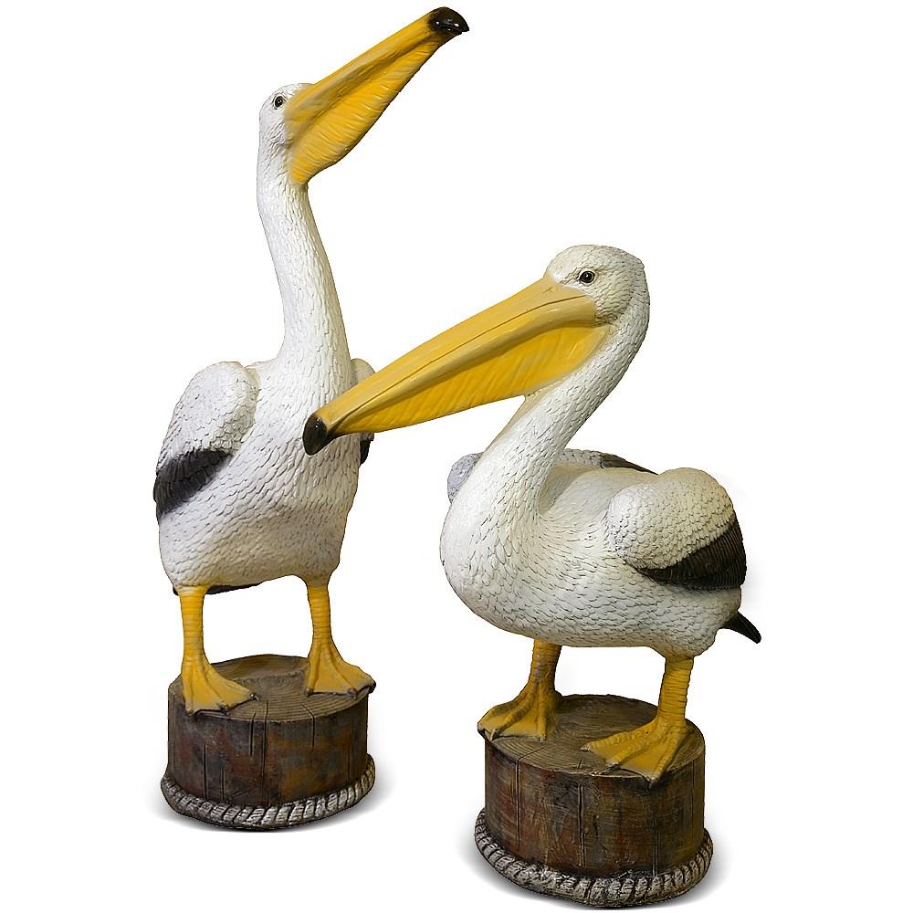 Садовая фигура Пеликан