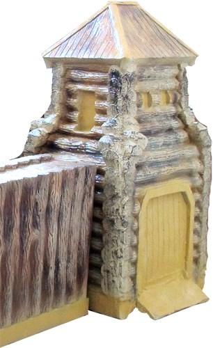 Башня с воротами для песочницы