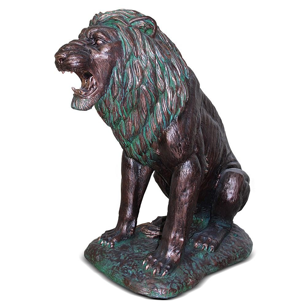 Скульптура парковая под бронзу Лев