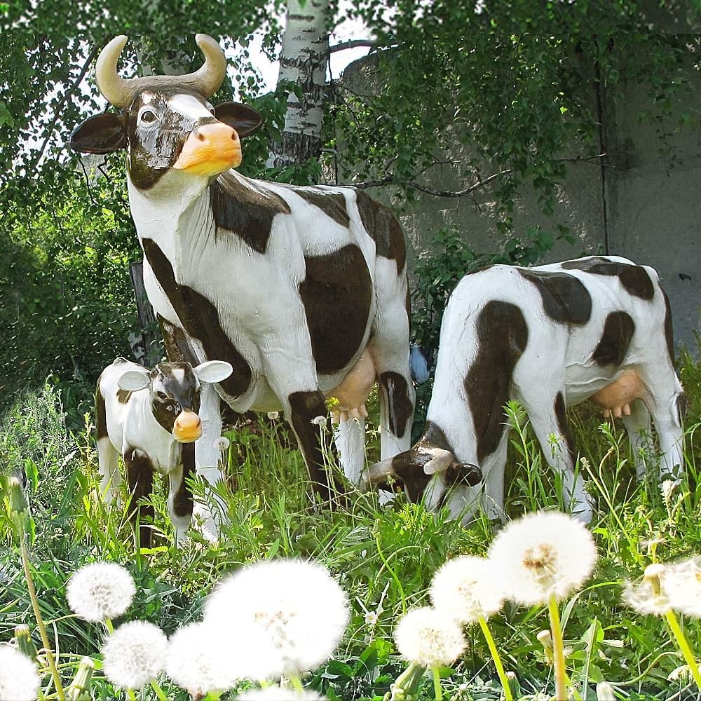 Садовые фигуры Коровы