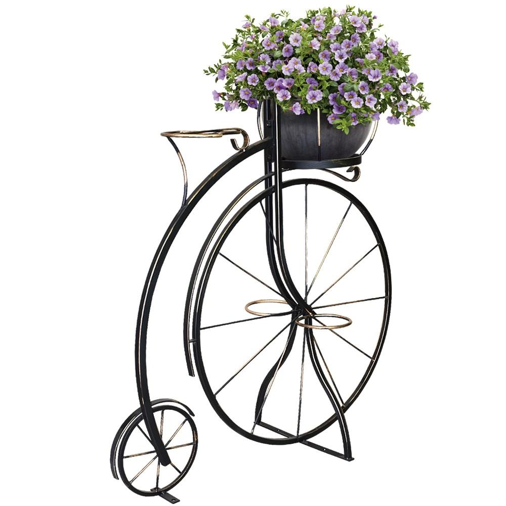 фото Декоративный велосипед для цветов
