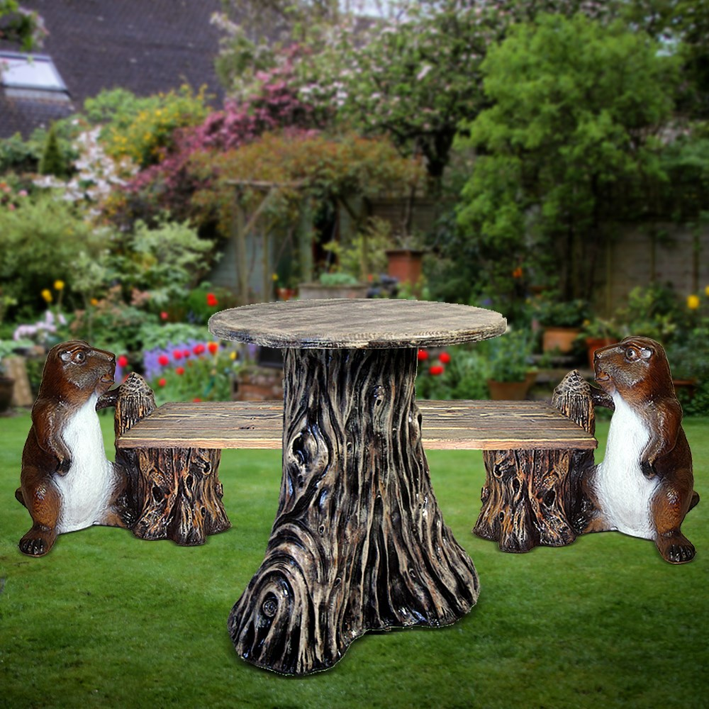 Комплект мебели стол и скамейка