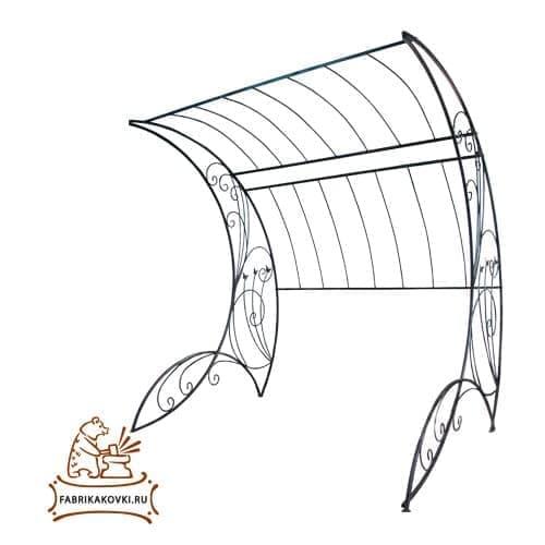 Шпалерная арка для сада