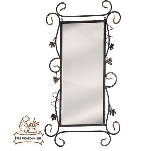 фото Зеркало в кованой раме