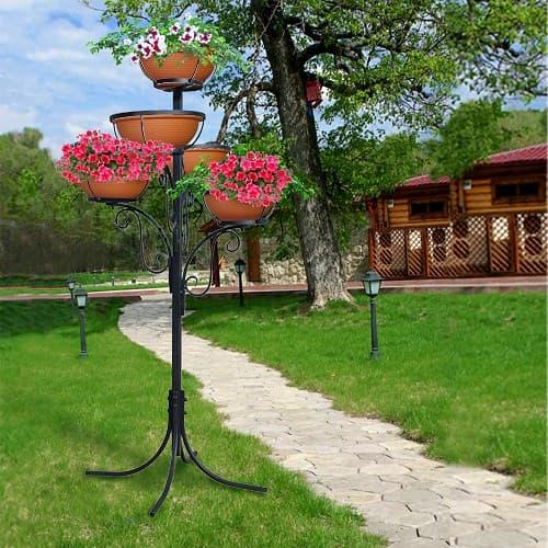 Садовая стойка. Вертикальное озеленение