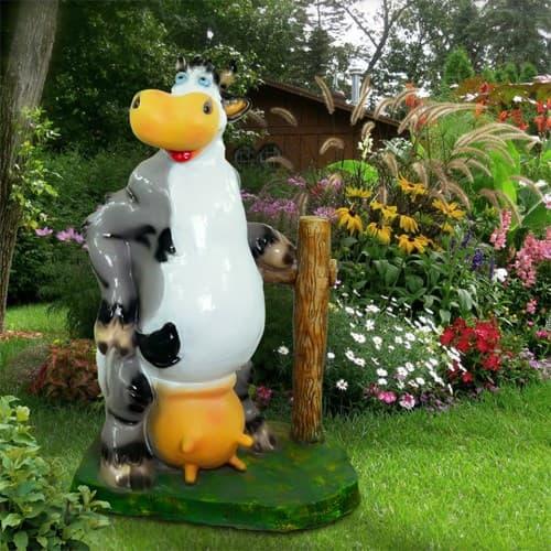 Садовые фигуры животных