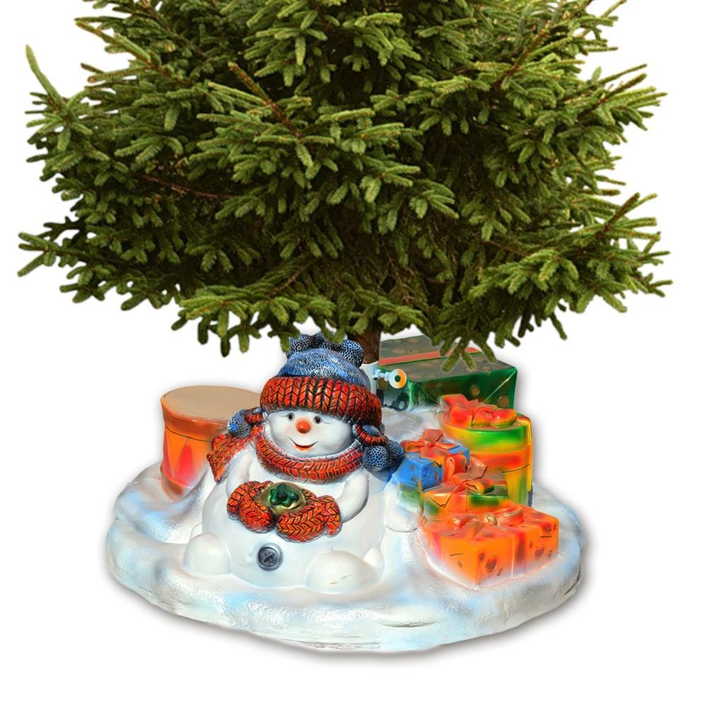Подставка для елки Снеговик - фото 11805