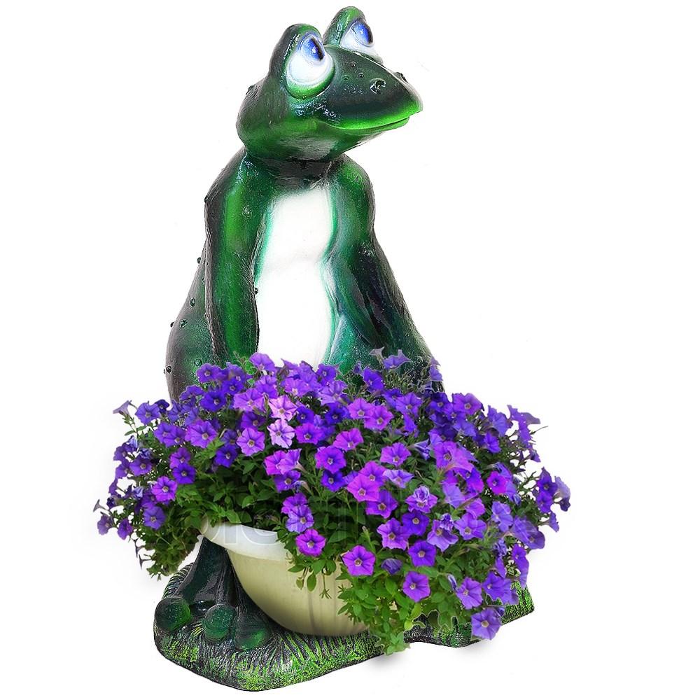 Садовая фигура Лягушка - фото 12118