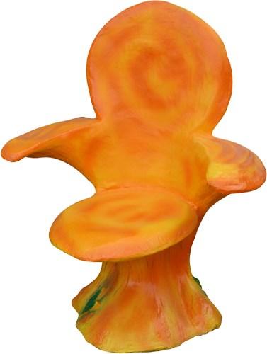 Садовое кресло грибы Лисички F07481