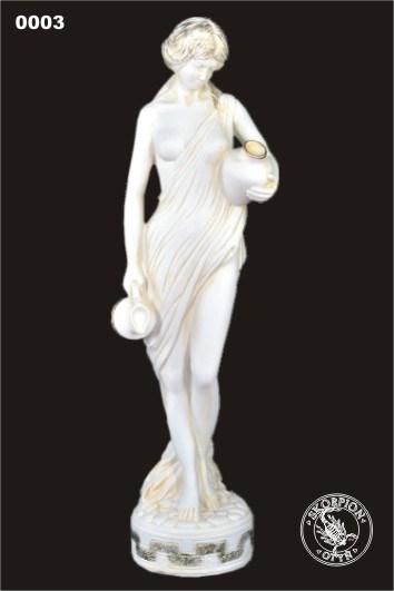 Парковая фигура Девушка с кувшинами - фото 13382
