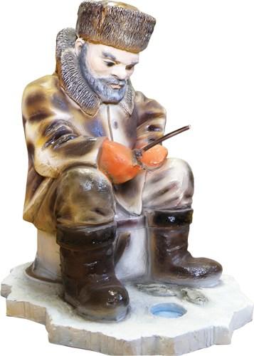 Парковая скульптура Рыбак - фото 13411