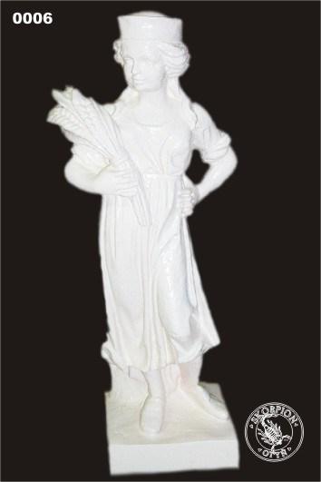 Садовая скульптура Девушка - фото 13521