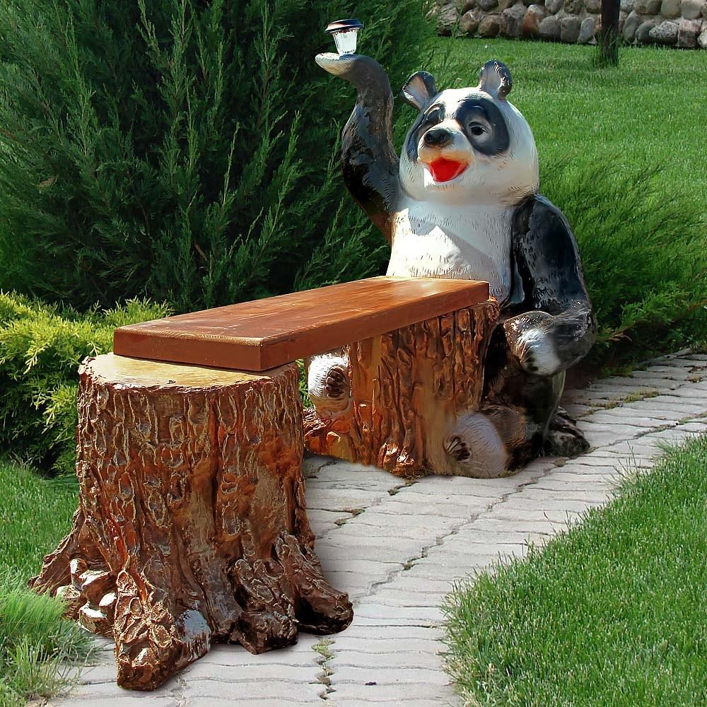 Скамейка для дачи Панда - фото 13666