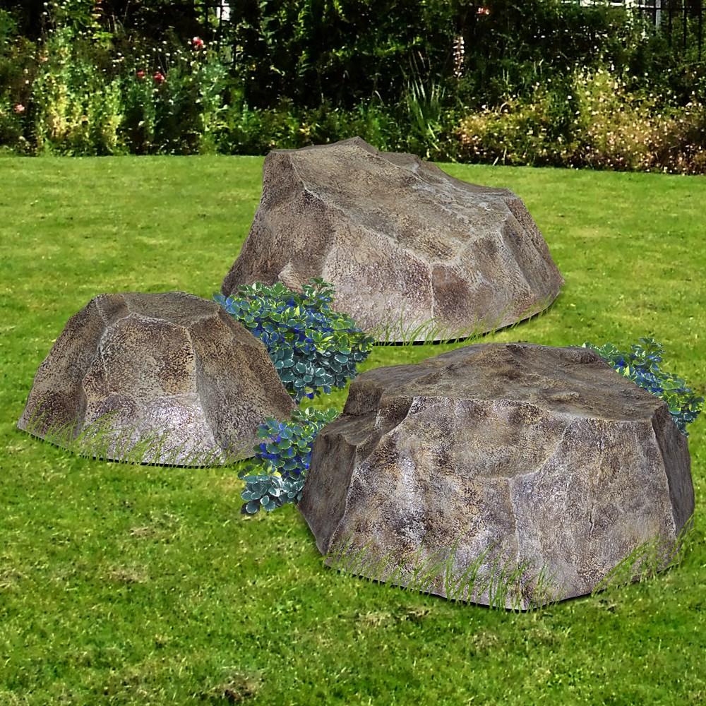 Комплект садовых фигур Валуны - фото 14285