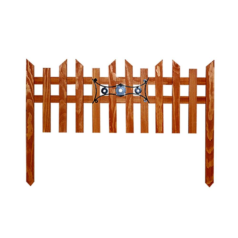 Деревянный секционный забор - фото 14389