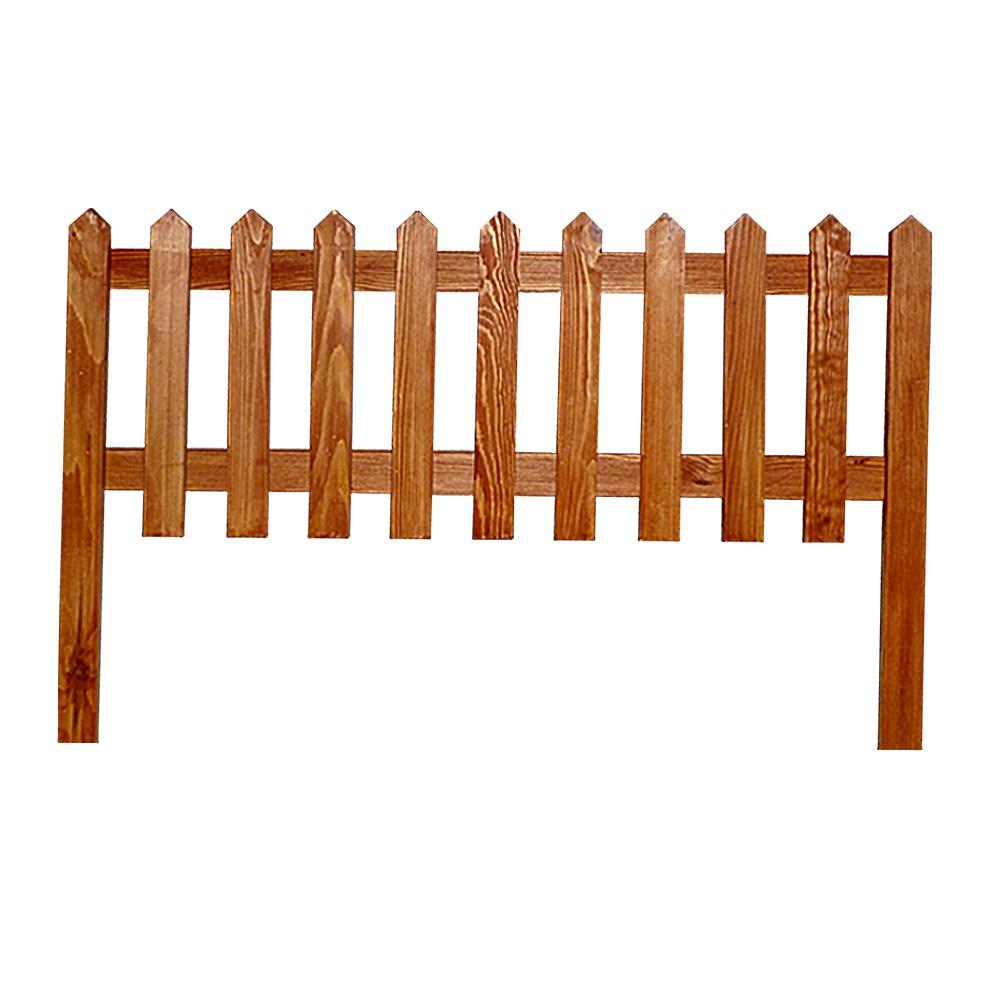 Деревянный забор - фото 14393