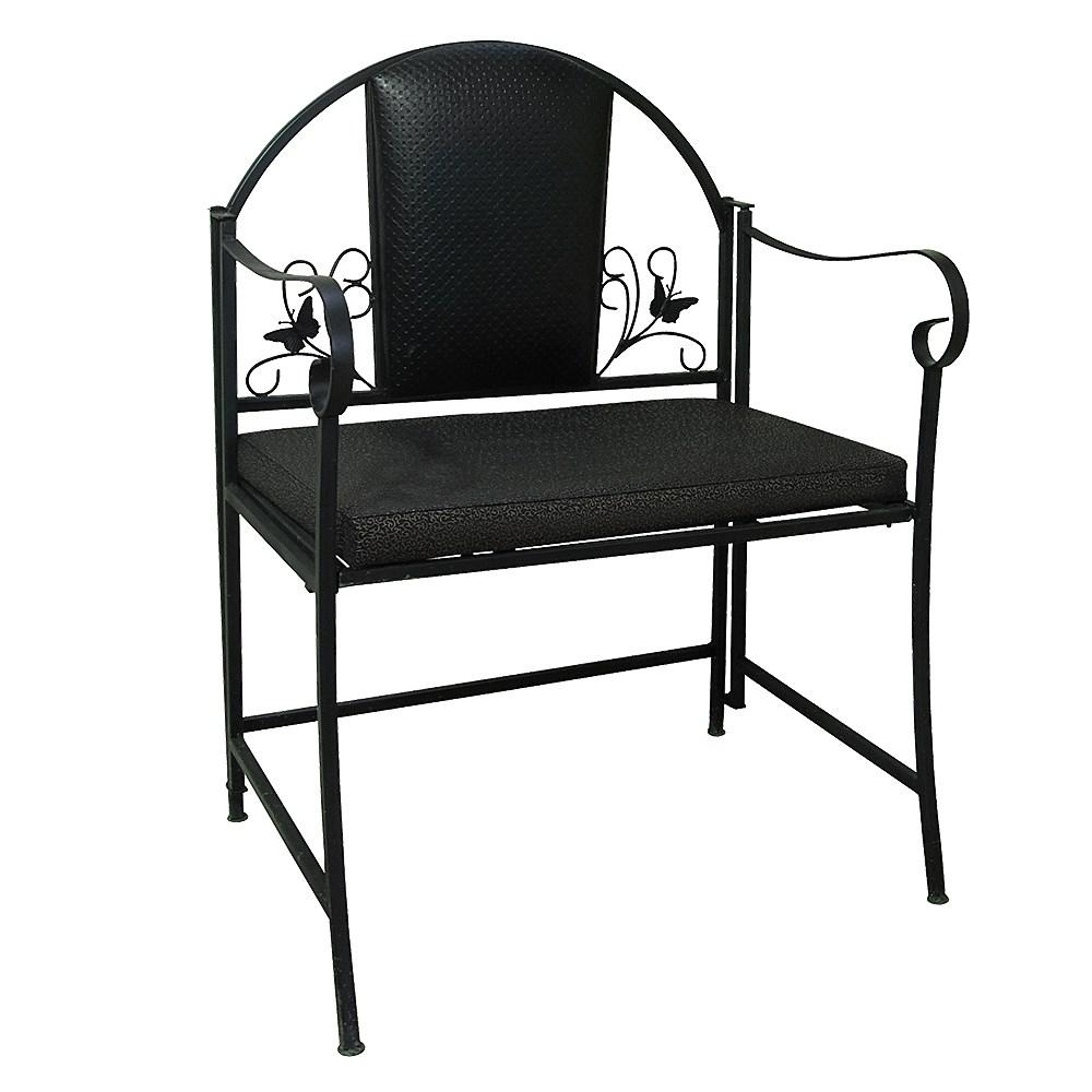 Кресло декорированное бабочками - фото 14417