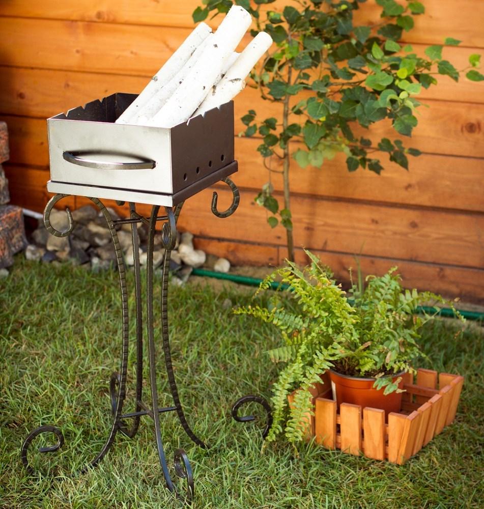 Мангал садовый малый - фото 15166
