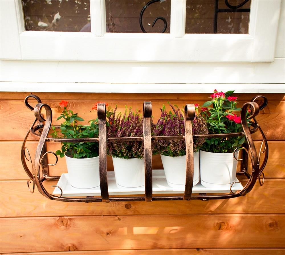 Кронштейн для цветочных ящиков - фото 15304