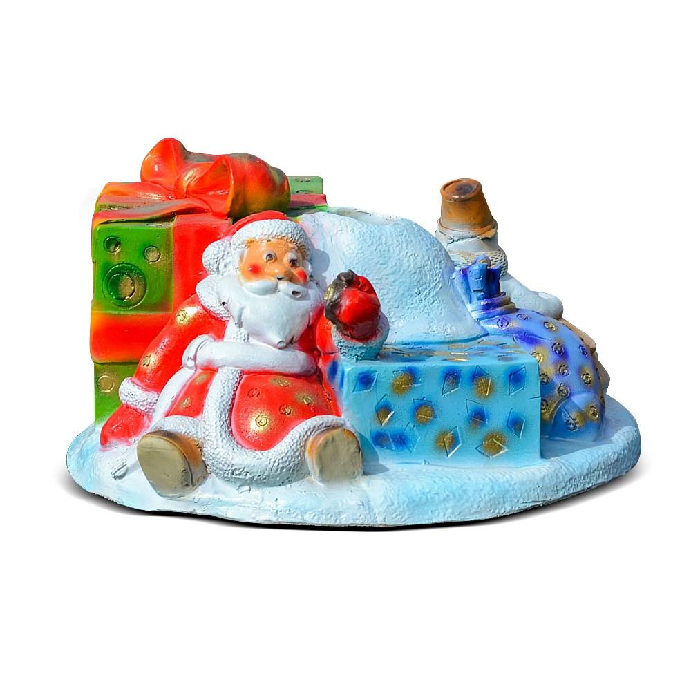 Подставка под елку Дед Мороз и снеговик - фото 15444