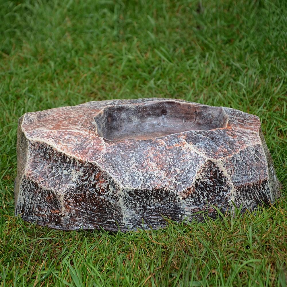 Кашпо-камень малое - фото 15471