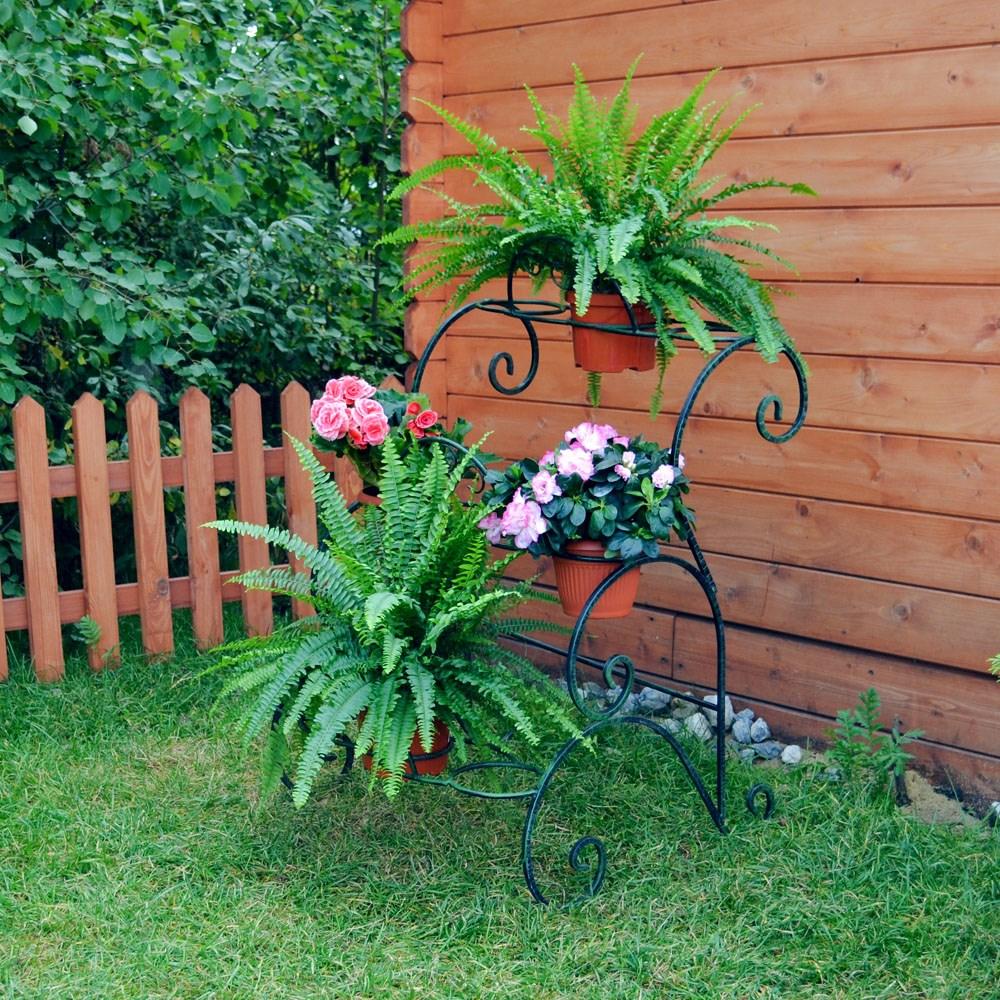 Подставка для цветов садовая - фото 15648