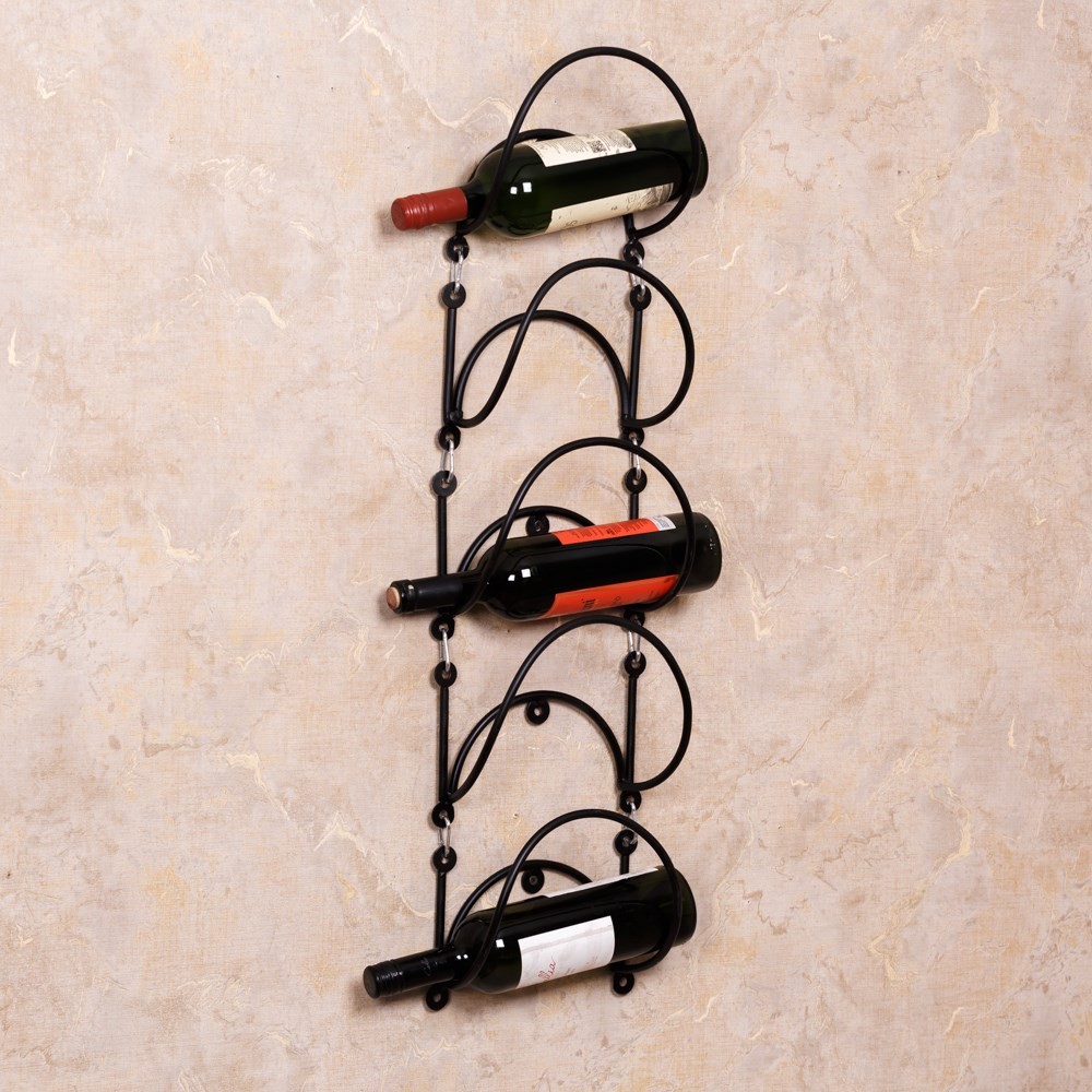 Подставка для вина на стену - фото 18116
