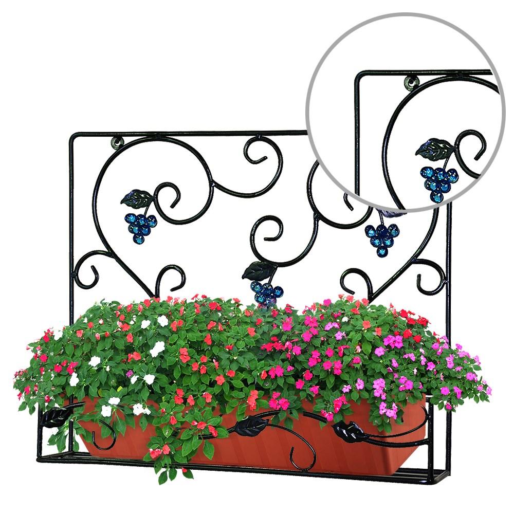 Подставка для ящиков на балконе