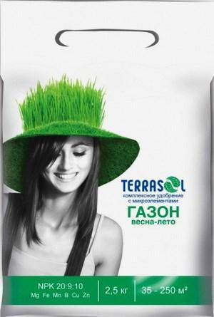 Удобрение  для газона Террасол 2,5кг - фото 21009