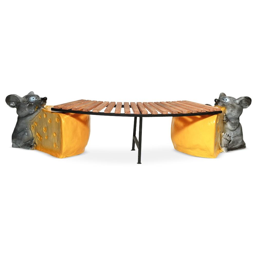 Скамейка для дачи мышь