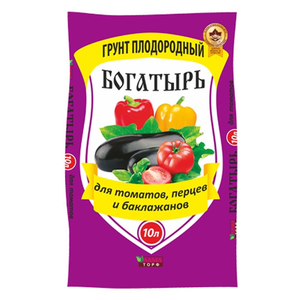 Грунт для овощей Богатырь