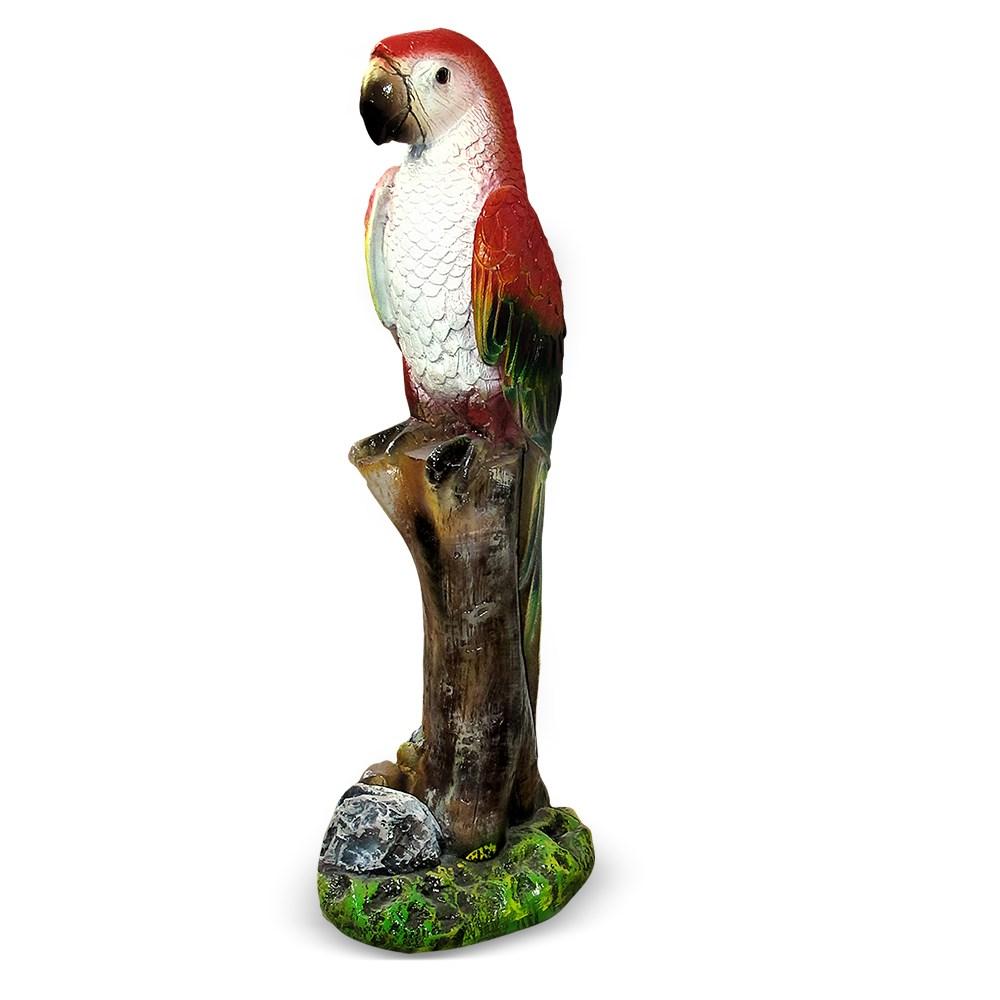 Садовая фигура Попугай на ветке