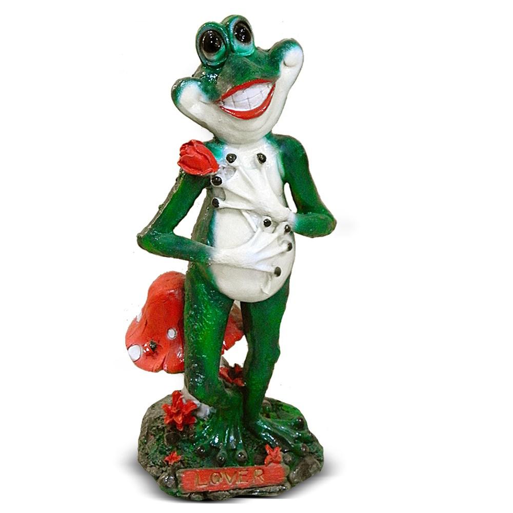 Садовая фигурка лягушка