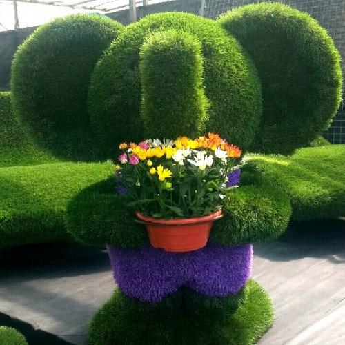 Топиарная фигура для сада слоник тома