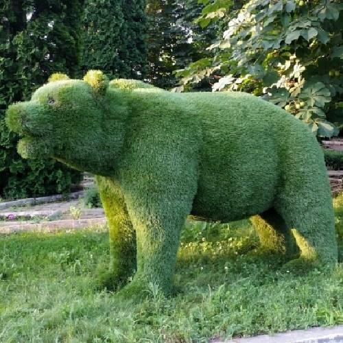 Садовая фигура медведь для дачи