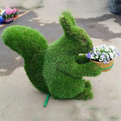 Топиарий белочка для сада и дачи