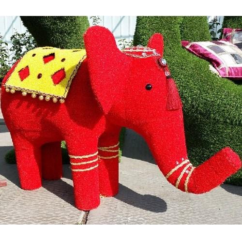Садовая фигура слоник для дачи и загородного дома